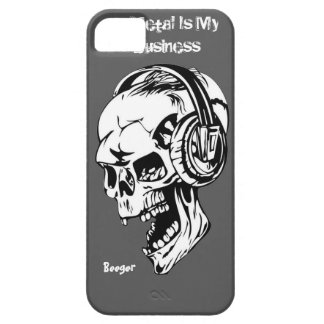 Iphone 5 ID - Metal Is My Business iPhone 5 Cover