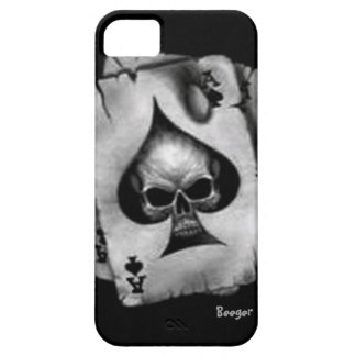 Iphone 5 ID - Skull of Spades iPhone SE/5/5s Case