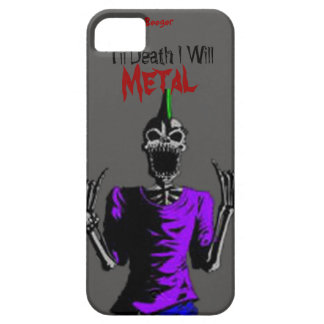 Iphone 5 ID - Til Death I Will Metal iPhone SE/5/5s Case