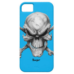 Iphone 5 ID - You Talkin To Me Skull iPhone SE/5/5s Case