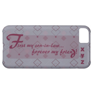 iphone 5 - Initials - Son-in-law iPhone 5C Case