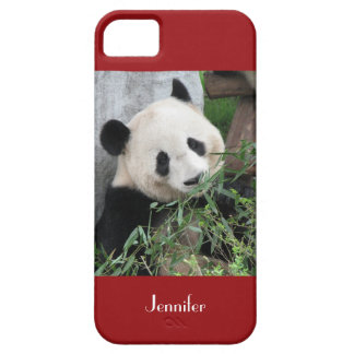iPhone 5, iPhone 5s Case Giant Panda Red