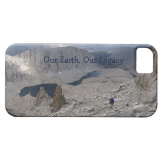 iPhone 5, iPhone 5s Earth Day Solitary Hiker iPhone SE/5/5s Case