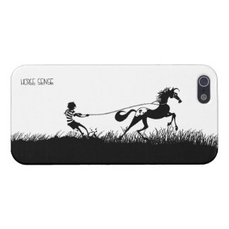 Iphone 5 Jamie and Acorn Lasso iPhone SE/5/5s Case
