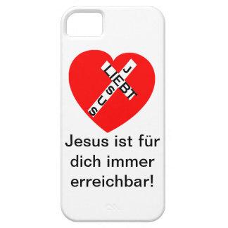 iPhone 5 - Jesus Leibt - Jesus ist für dich.... iPhone SE/5/5s Case