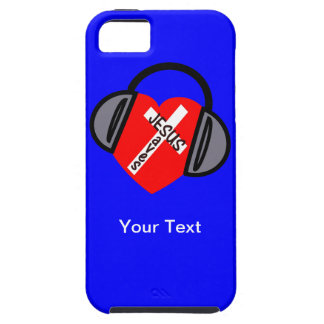 iPhone 5 - Jesús Saves Music - Your texto iPhone 5 Fundas
