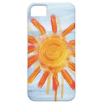 iPhone 5 kaum dort Fall, Sonnenschein-Malerei iPhone 5 Covers