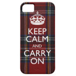iPhone 5 Keep Calm And Carry On Cover iPhone 5 Case