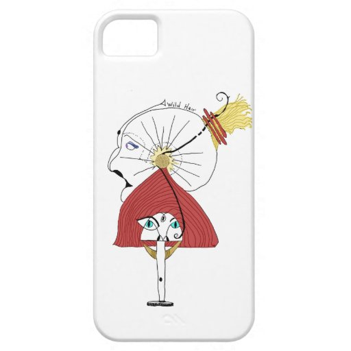IPhone 5 Lite Case with a WILD Hair iPhone 5 Cover