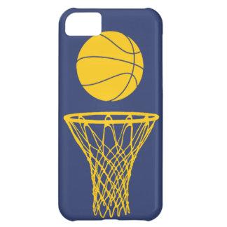 iPhone 5 marcapasos de la silueta del baloncesto a