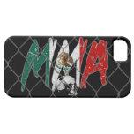 iPhone 5 Mexico MMA Black iPhone 5 Case