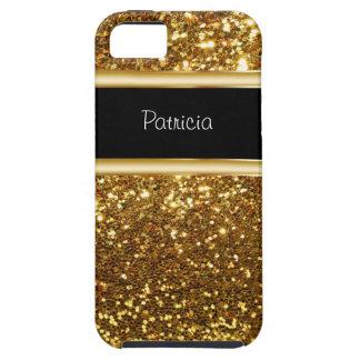 iPhone 5 Monogram Glitter Case