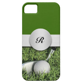 iPhone 5 Monogram Golf Cases iPhone 5 Case