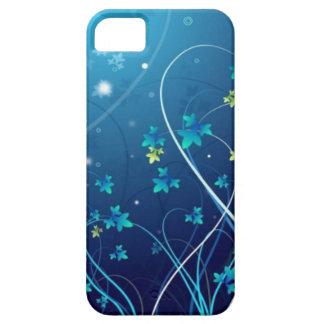 iphone 5 Ocean Blue Flowers case