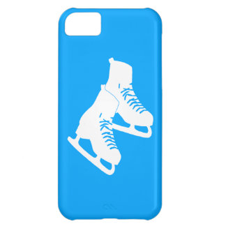 iPhone 5 patines de hielo azules Funda Para iPhone 5C