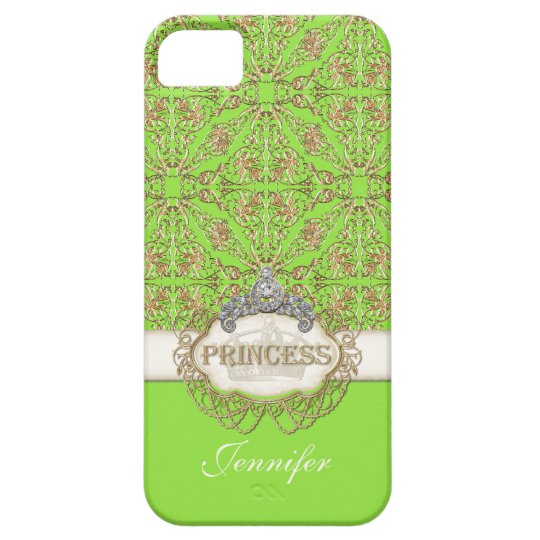 IPhone 5 Princess Jewel Bling Crown Personalized iPhone SE/5/5s Case
