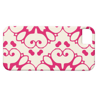 iPhone 5 raspberry and cosmic latte pattern case iPhone 5 Cases