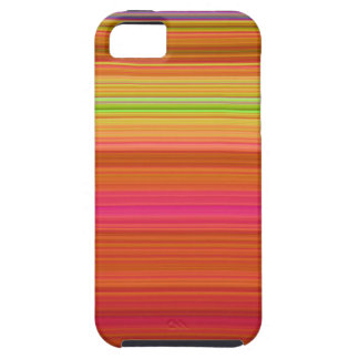 iPhone 5 Red Yellow Orange stipes iPhone 5 Cases