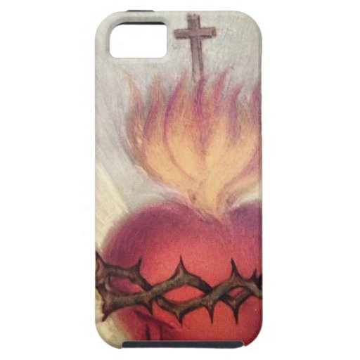 iPhone 5 Sacred Heart Design iPhone 5 Covers