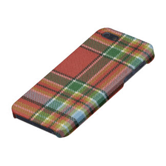 iPhone 5 Savvy Chattan Ancient Tartan Print Cover For iPhone SE/5/5s
