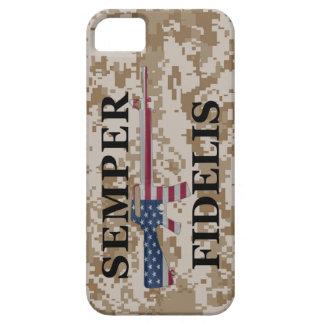 iPhone 5 Semper Fidelis Tan Camo iPhone SE/5/5s Case