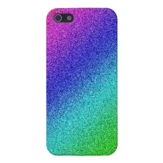 iPhone 5 shining finish covering rainbow glitter Case For iPhone SE/5/5s