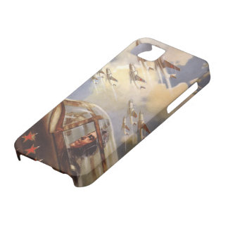 iPhone 5 Skin with Old USSR Air Force Propaganda iPhone SE/5/5s Case