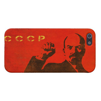 iPhone 5 Skin with Vintage Lenin USSR Print Cover For iPhone SE/5/5s