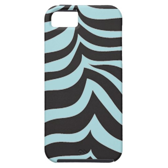 iPhone 5 Sky Blue Zebra Case-Mate Vibe Case