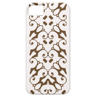 iPhone 5 snow white and otter brown pattern case iPhone 5 Case