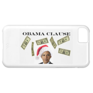 iPhone 5 Spread the Wealth Obama Clause Case Funny Cover For iPhone 5C