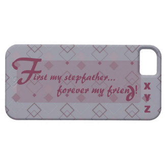 iphone 5 Stepfather Customize w/his initials iPhone SE/5/5s Case