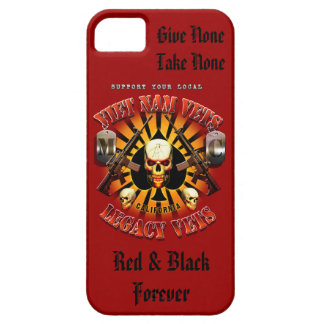 iPhone 5 - Support the Viet Nam / Legacy Vets MC iPhone SE/5/5s Case