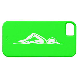iPhone 5 Swim Logo Green iPhone 5 Cover