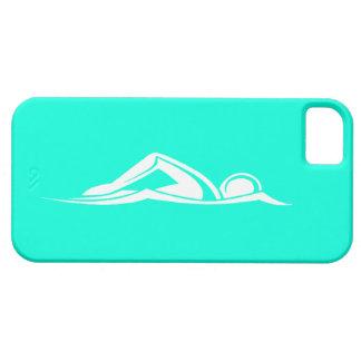 iPhone 5 Swim Logo Turquoise iPhone 5 Case