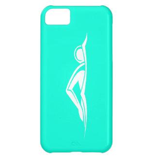 iPhone 5 Swim Logo Turquoise iPhone 5C Case