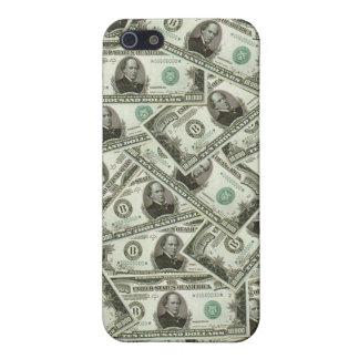 Iphone 5 Ten Thousand Dollar Bills Case For iPhone SE/5/5s