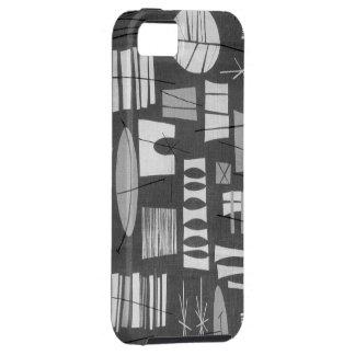 iPhone 5 Tough Case: GEOMETRIC 2-GREY LAGOON iPhone SE/5/5s Case