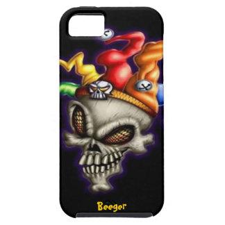 Iphone 5 tough - Jester Skull iPhone SE/5/5s Case