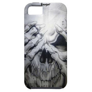Iphone 5 tough - Peek-a-BOO Skull iPhone 5 Cases
