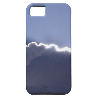 iPhone 5 toughcase with pic of silver lining cloud iPhone SE/5/5s Case