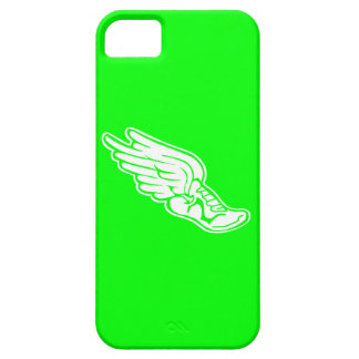 iPhone 5 Track Logo White on Green iPhone SE/5/5s Case