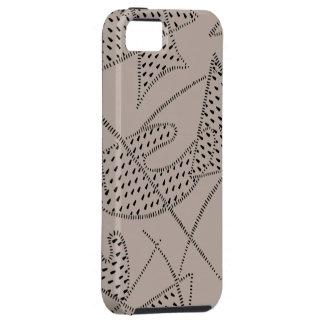 iPhone 5 Tuff Case ATOMIC BOOMERANG FLINTSTONE