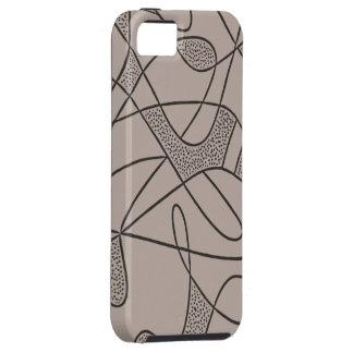 iPhone 5 Tuff Case CONTEMPO RETRO 1950s FLINT