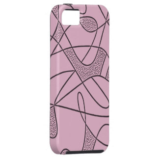 iPhone 5 Tuff Case CONTEMPO RETRO 1950s PINK
