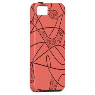iPhone 5 Tuff Case CONTEMPO RETRO 50s P ROSE
