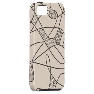 iPhone 5 Tuff Case CONTEMPO RETRO 50s SAND CITY