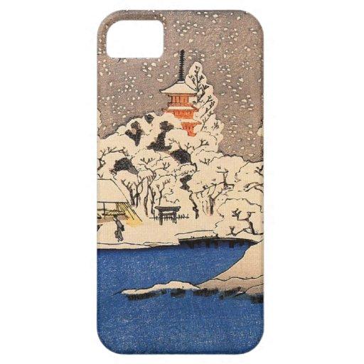 iPhone 5 ~ Utagawa Kuniyoshi ~ Snow iPhone 5 Cases