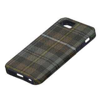iPhone 5 Vibe Campbell of Argyll Weathered Tartan iPhone SE/5/5s Case