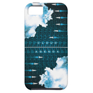 iPhone 5 Vibe Case-Cloud Agenda Rocket2 iPhone SE/5/5s Case